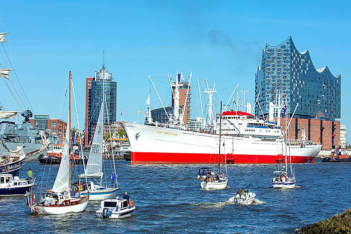 Travel,Hansestadt Hamburg, Hafen, Hafengeburtstag. Foto ©Ingo Wandmacher.