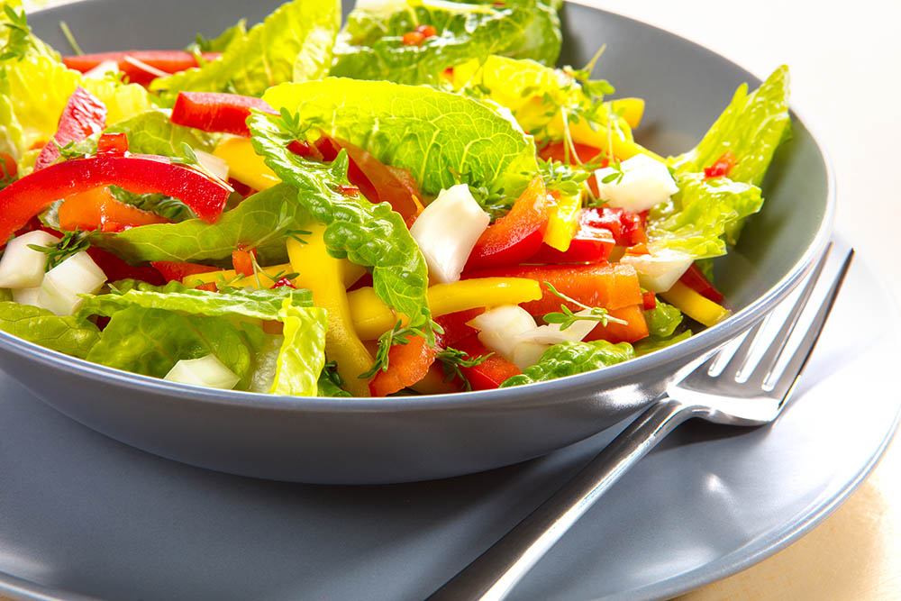 Food, Ernährungsratgeber, Salat. Foto ©Ingo Wandmacher