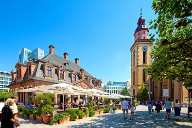 Frankfurt am Main, Hauptwache mit Katharinenkirche