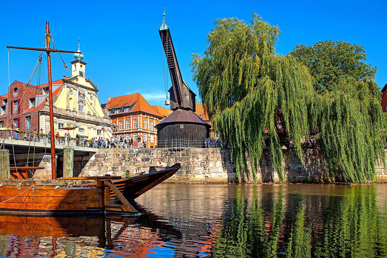 Travel,Niedersachsen, Hansestadt Lüneburg, Sinthafen. Foto ©Ingo Wandmacher