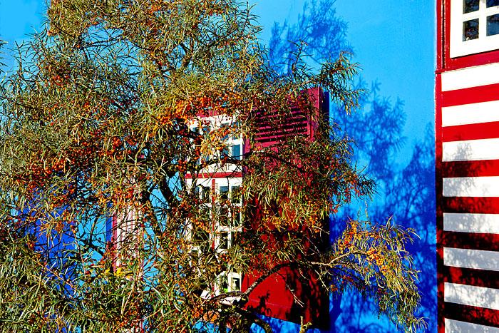 Fotoproduktion Hotel und Gastronomie in Deutschland, Schleswig-Holstein, Ostseeküste, Das Blaue Haus auf Graswarder, Heiligenhafen.Foto ©Ingo Wandmacher.