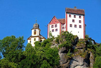 Fraenkische Schweiz, Burg Egloffstein.
