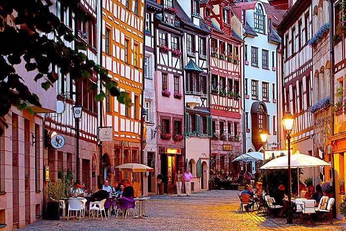Travel Deutschland, Bayern, Franken, Nürnberg, Altstadt. Foto ©Ingo Wandmacher.