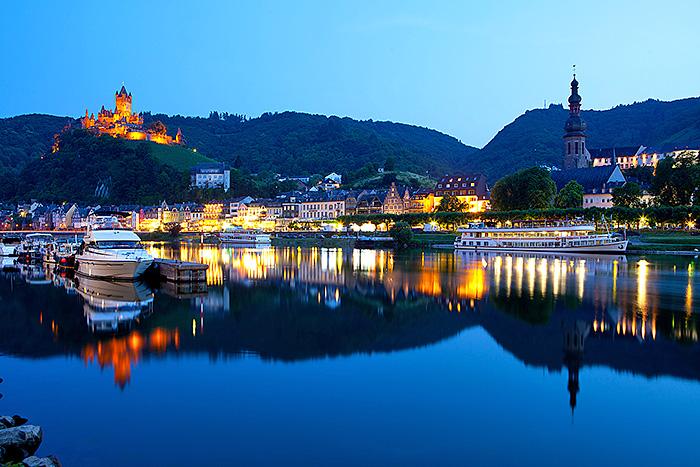 Travel Deutschland, Cochem an der Mosel, Moseltal. Foto ©Ingo Wandmacher.