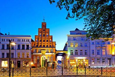 Schleswig-Holstein, Hansestadt Lübeck, Blick auf die Schiffergesellschaft an der Breiten Strasse