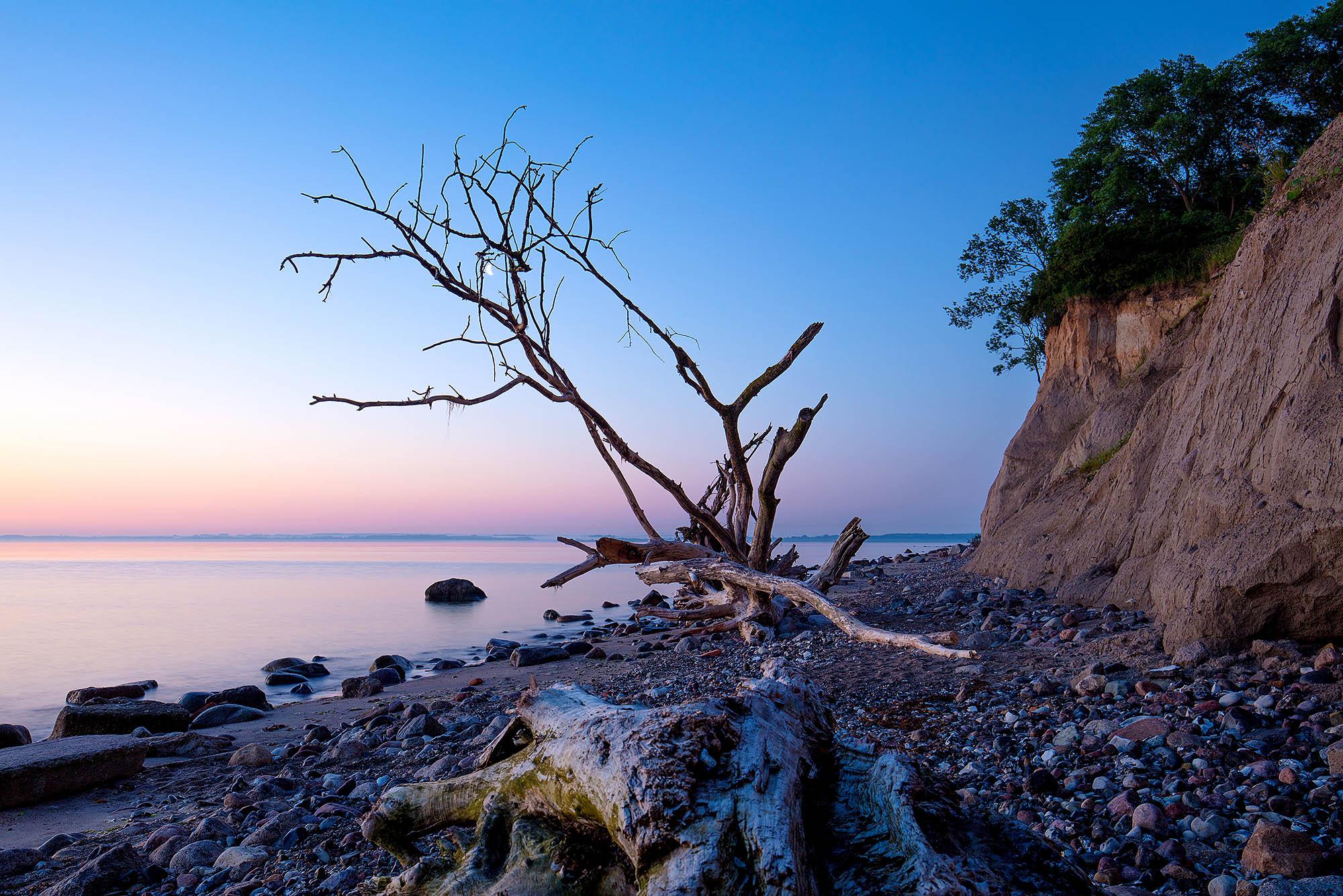 Schleswig-Holstein, Luebecker Bucht, Naturstrand am Brodtener Ufer. Foto. Ingo Wandmacher
