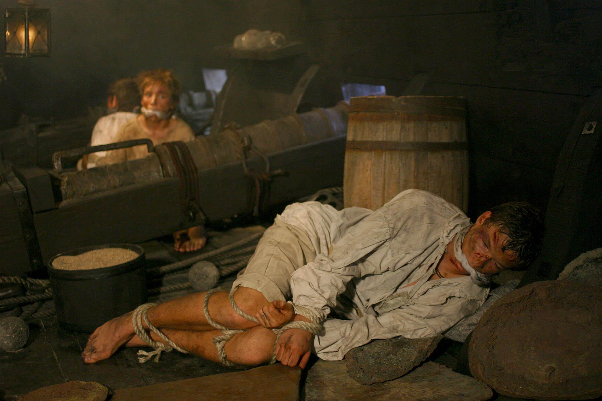 Hark Olufs 1721 . Von Seeräubern mit sein Cousins zusammen gefangen und auf dem Markt von Algier als Sklaven verkauft.