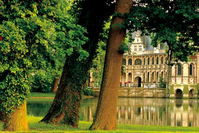 NRW Nordrhein-Westfalen,Muensterland. Schloss Darfeld.