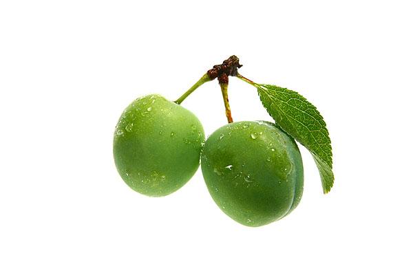 Food, Obst, Große Grüne Renklode.
